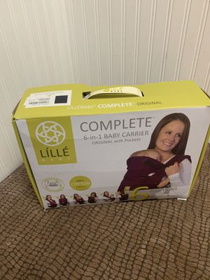 Lille Baby 6 in 1 Baby Carrier for Sale in Cheektowaga, NY