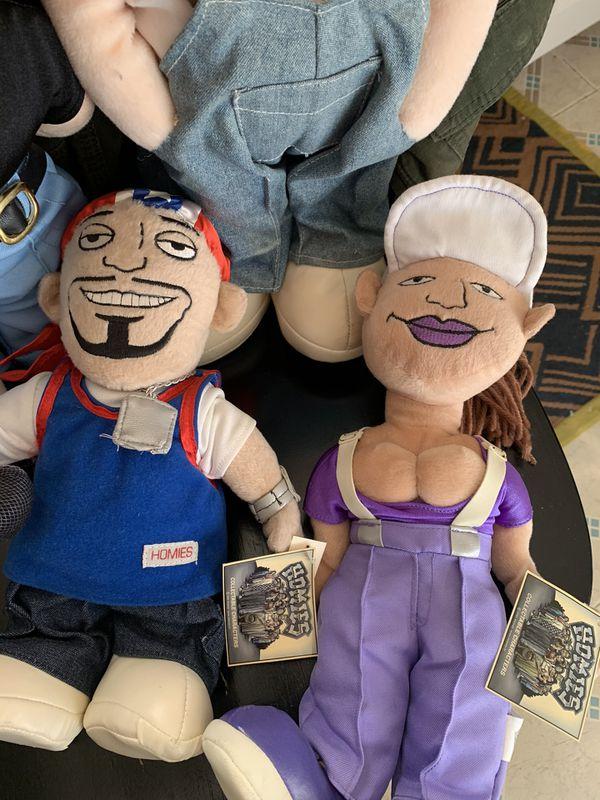 Lil Homies Plush Lot (4) Plush dolls Vintage Toys