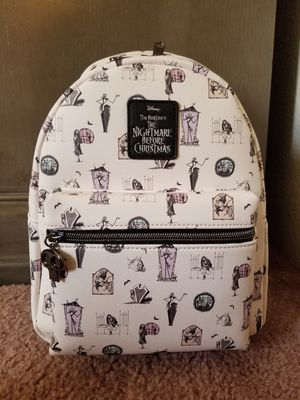 THE NIGHTMARE BEFORE CHRISTMAS PASTEL MINI BACKPACK for Sale in Phoenix, AZ