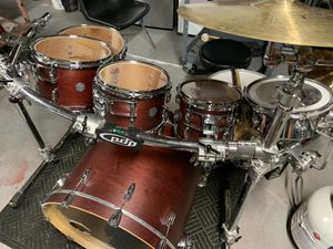 Gibraltar drum set everything to start playing for Sale in Groveport, OH