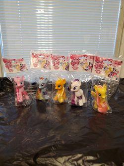 NIB- 5 Lot Of My Little Pony Friendship Magic for Sale in San Antonio,  TX