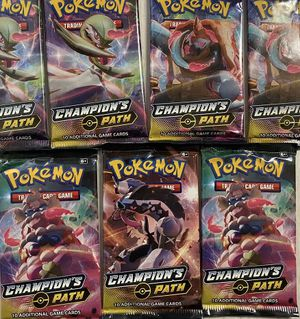 Pokemon Cards - Champions Path - Booster Packs Bundle (X10) for Sale in Winter Garden, FL