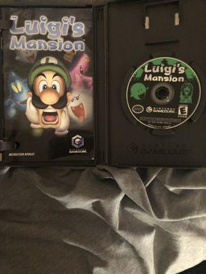 Luigi's mansion GameCube for Sale in San Diego, CA
