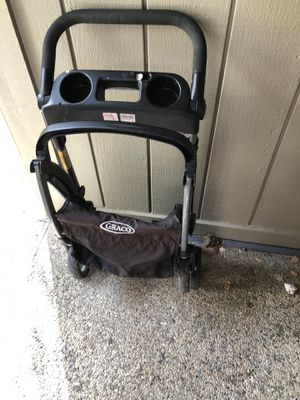 Gracco stroller caddy and extra base $15 each or $25 for both obo for Sale in Oroville, CA