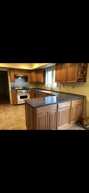Kitchen Corian countertop counter top tops with sink in mint condition for Sale in West Windsor Township, NJ