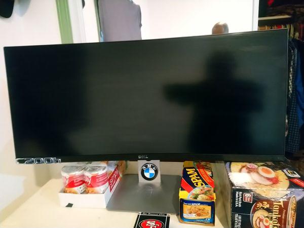 """Dell 32"""" curve computer monitor"""