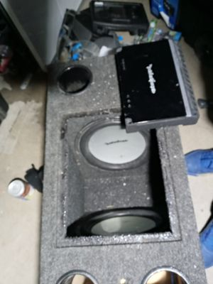 Rockford fosgate subs and amp for Sale in Englewood, CO