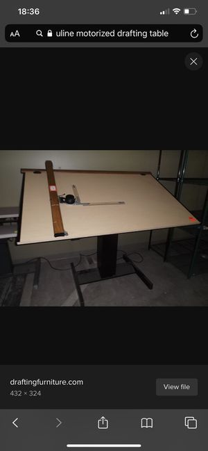 Mayline Electronic Drafting Table with Compass mechanism for Sale in Galloway, OH