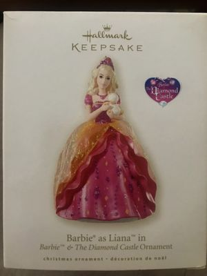 Hallmark Keepsake Barbie as Liana in Barbie & the Diamond Castle Ornament for Sale in Saint CLR SHORES, MI