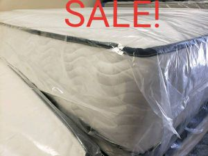 New twin size 11 inches thick double sided mattress includes boxspring for Sale in Virginia Beach, VA
