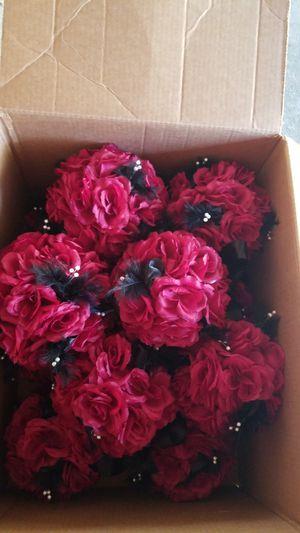 14 Rose pomanders (hanging flower balls) for Sale in West Monroe, LA