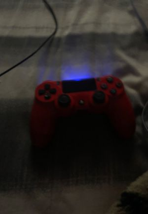 Red ps4 controller for Sale in Perris, CA
