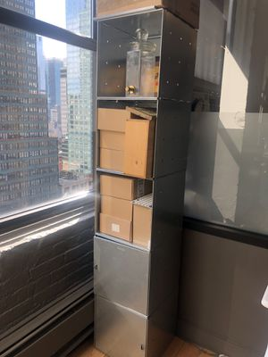 Stackable metal shelving for Sale in New York, NY