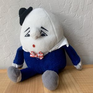 "Vintage 1998 Stuffins Humpty Dumpty 8"" Plush Stuffed Animal Toy for Sale in Elizabethtown, PA"