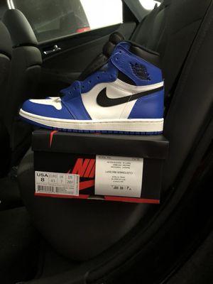 "Air Jordan 1 ""Game Royal"" size 8 for Sale in Dallas, TX"