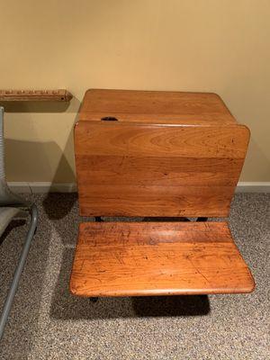 Old child's school desk for Sale in Denver, PA