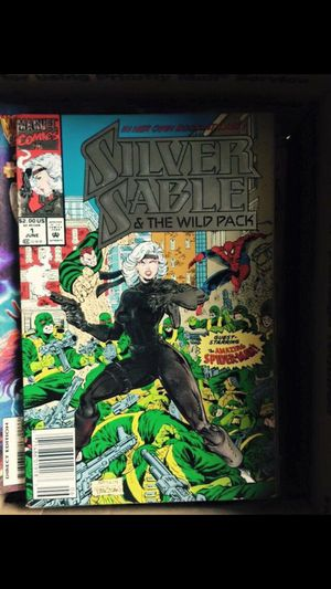 Vintage Marvel comics silver sable 1992 for Sale in Los Angeles, CA