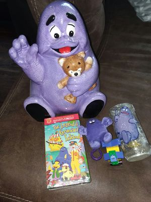 Mcdonalds Grimace collection for Sale in Webster, NY