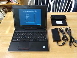 Dell Precision 7510 + dock i7-6820hq/16gb ram/ Quadro m1000m / 500gb ssd+ 500gb hdd for Sale in Summerville, SC