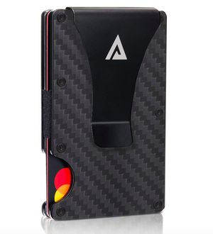 Rfid Wallets for Men Money Clip Carbon Fiber Wallet Card Holder Slim Men Wallet for Sale in Rancho Cucamonga, CA