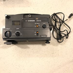 Chinon 2500GL Cine Projector For all 8mm Formats for Sale in Whittier, CA
