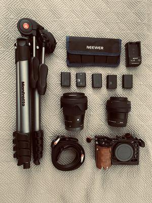 Sony 6500 Camera Full Kit for Sale in Burbank, CA