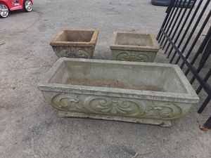 Concrete planters for Sale in Nashville, TN