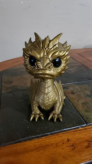 Funko Pop Gold Smaug #124 (no box) for Sale in Miami Springs, FL