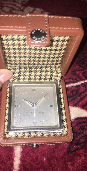 Cutter & buck travel alarm clock new for Sale in Chelsea, MA