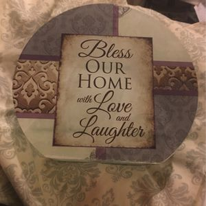 Bless Our Home Tea light Holder for Sale in Carbondale, IL