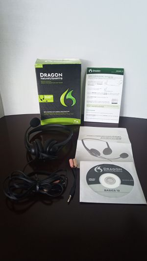 Nuance Dragon Naturally Speaking Basic Edition 12 for Sale in Tampa, FL
