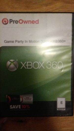 Game Party In Motion(Xbox 360) for Sale in Cleveland, OH