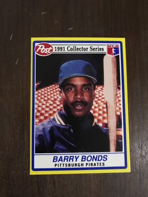 Barry Bonds 1991 Baseball Card for Sale in Abingdon, MD