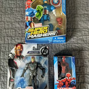 Captain America Iron Man Spider-Man Toys for Sale in San Diego, CA