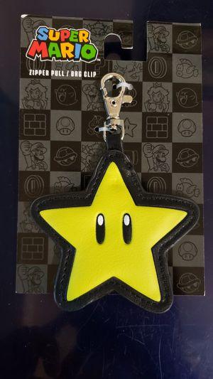 """Nintendo Super Mario Bros. """"Star, Invincibility"""" Zipper Pull /Bag Clip (NES) for Sale in Wareham, MA"""