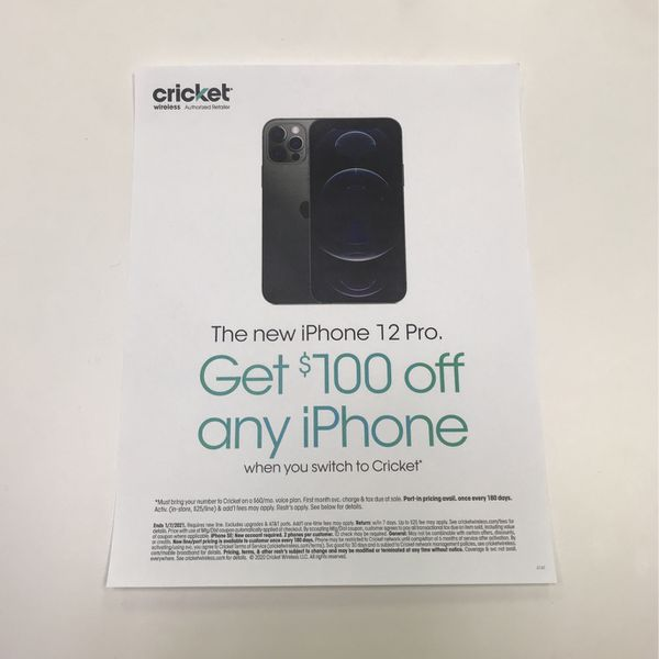 Any iPhone is $100 off when you switch!