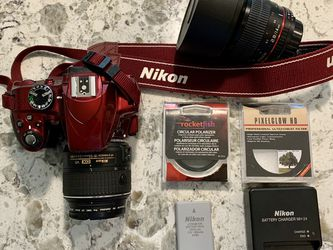 Nikon D3300, Rokinon Lens, Carrying Bag, Accessories for Sale in Seattle,  WA