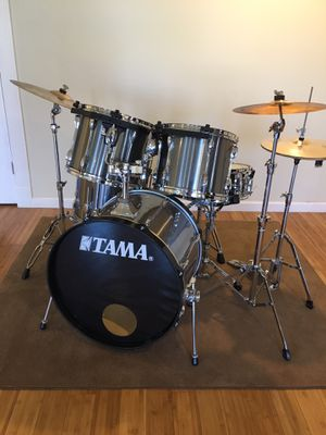 Tama rockstar drum set- complete with cymbals for Sale in Morris, CT