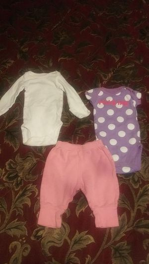 3 Piece New born Baby Clothes for Sale in Austin, TX