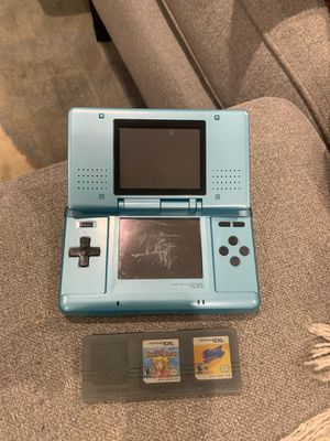 Nintendo DS W/ Super Princess Peach and Kirby Squeek Quad Games for Sale in Burbank, CA