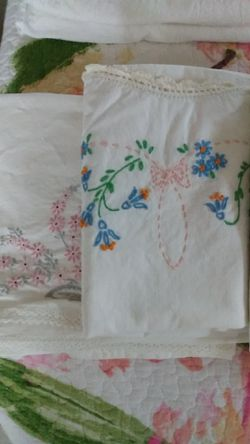 Vintage Tea Towels/Pillow Cases for Sale in Portland,  OR
