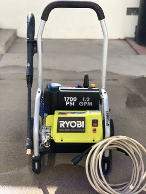 RYOBI 1,700 PSI 1.2 GPM Electric Pressure Washer for Sale in South Gate, CA
