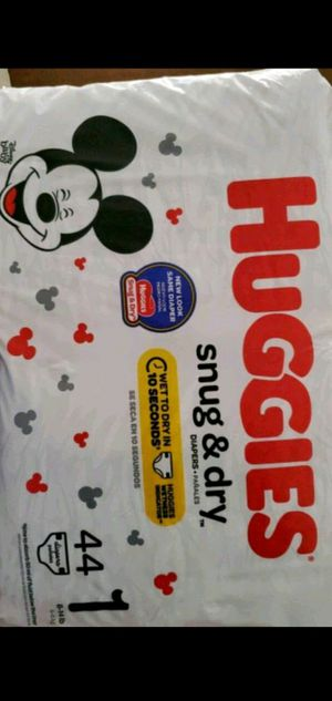 Huggies diapers size 1 for Sale in Fort Myers, FL