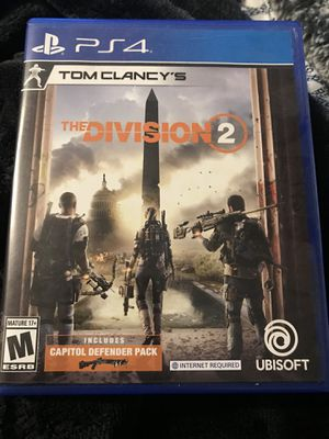 The Division 2 ps4 Flawless Condition for Sale in Citrus Heights, CA