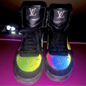 Louis Vuitton iridescent Luxembourg Rivoli Sneaker Boot for Sale in West Orange, NJ