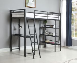 Coaster Youth Twin Workstation Loft Bed for Sale in Fountain Valley, CA