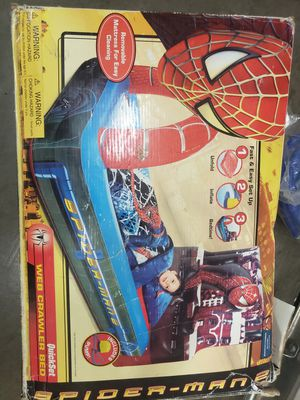 Spiderman Inflatable Bed and Volleyball Net plus Extras for Sale in Fontana, CA