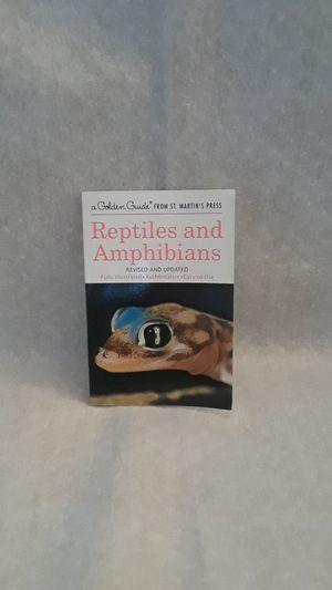 Reptiles and Amphibians book (mini) for Sale in Winchester, VA