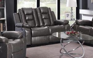 GT Dark Gray Recljaining Loveseat | U9702 for Sale in Chantilly, VA