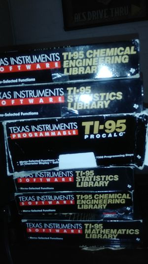 Texas Instruments Ti-95 procalc Brand new wirh 5 software packs for Sale in Las Vegas, NV